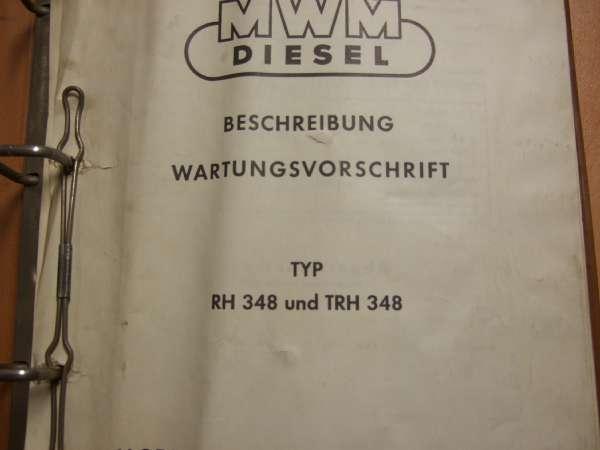 HERBERT METZENDORFF & CO  KG - MWM Manuals and Spare Part